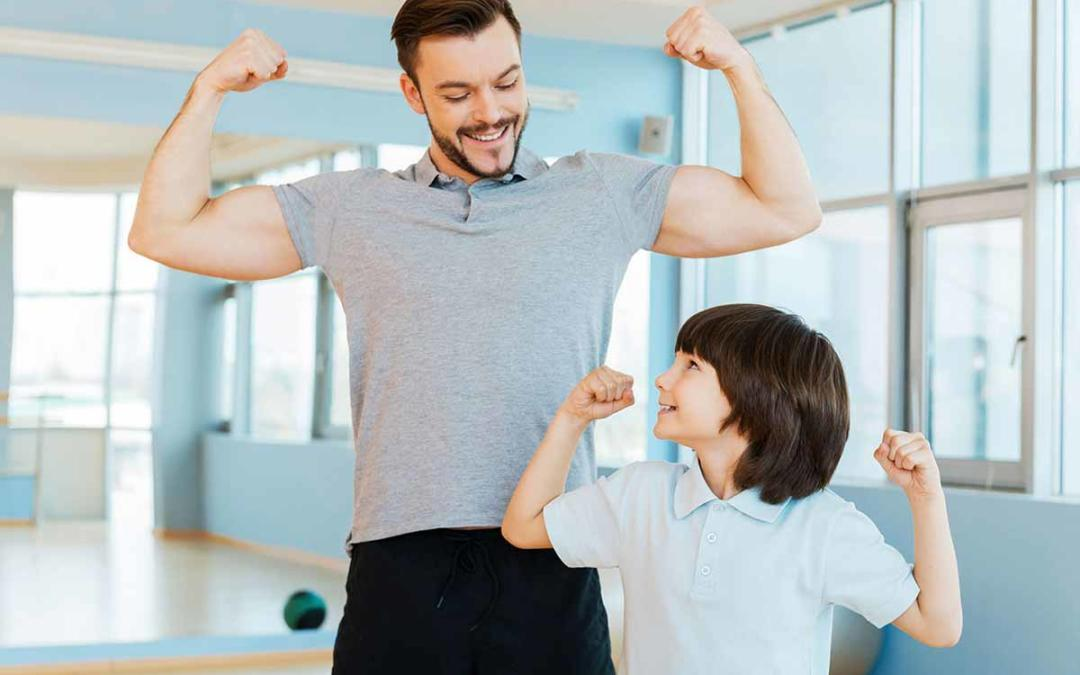 Five Ways for Dads and Kids to Get in Shape Together